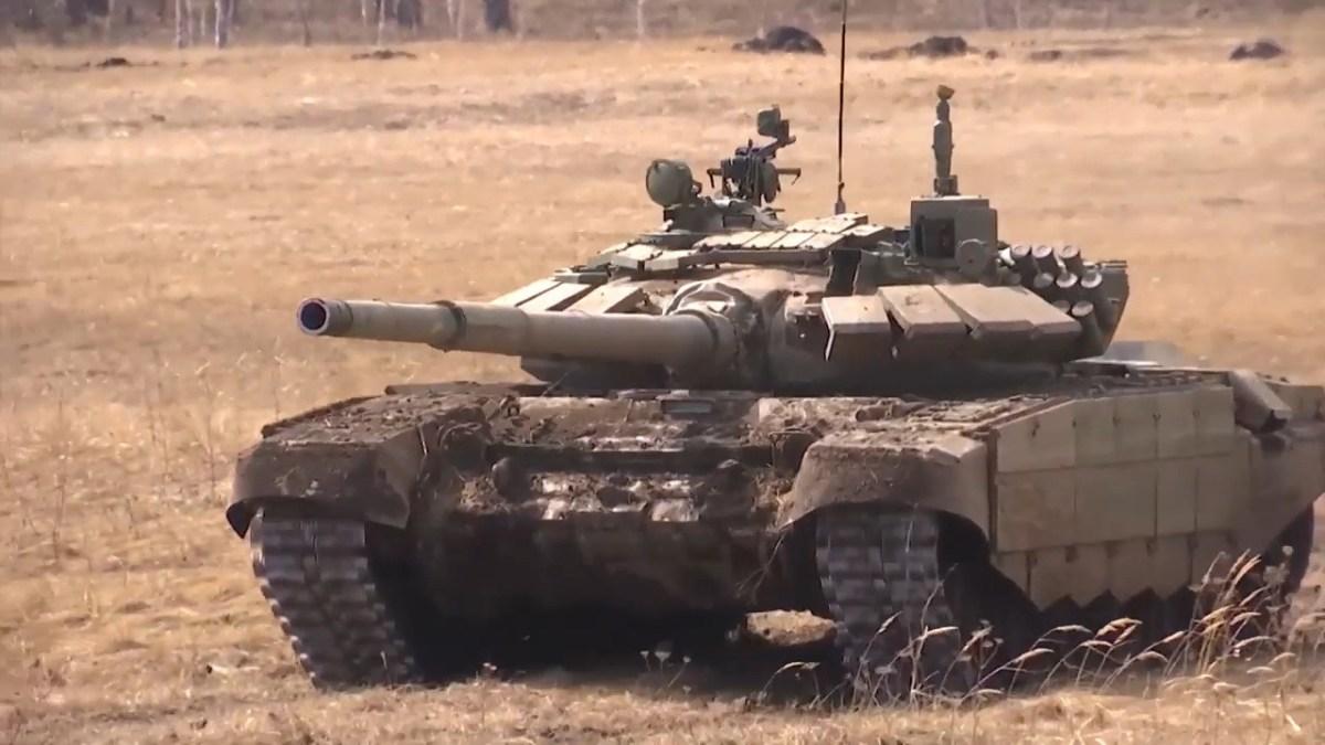 Newly Upgraded T-72B3M Main Battle Tank