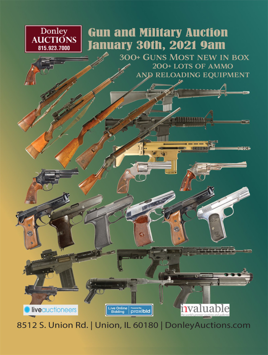 Donley Auctions Military Auction January 30th - Bid Online Now