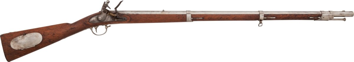 Model 1817 rifle produced by Henry Derringer in 1841.