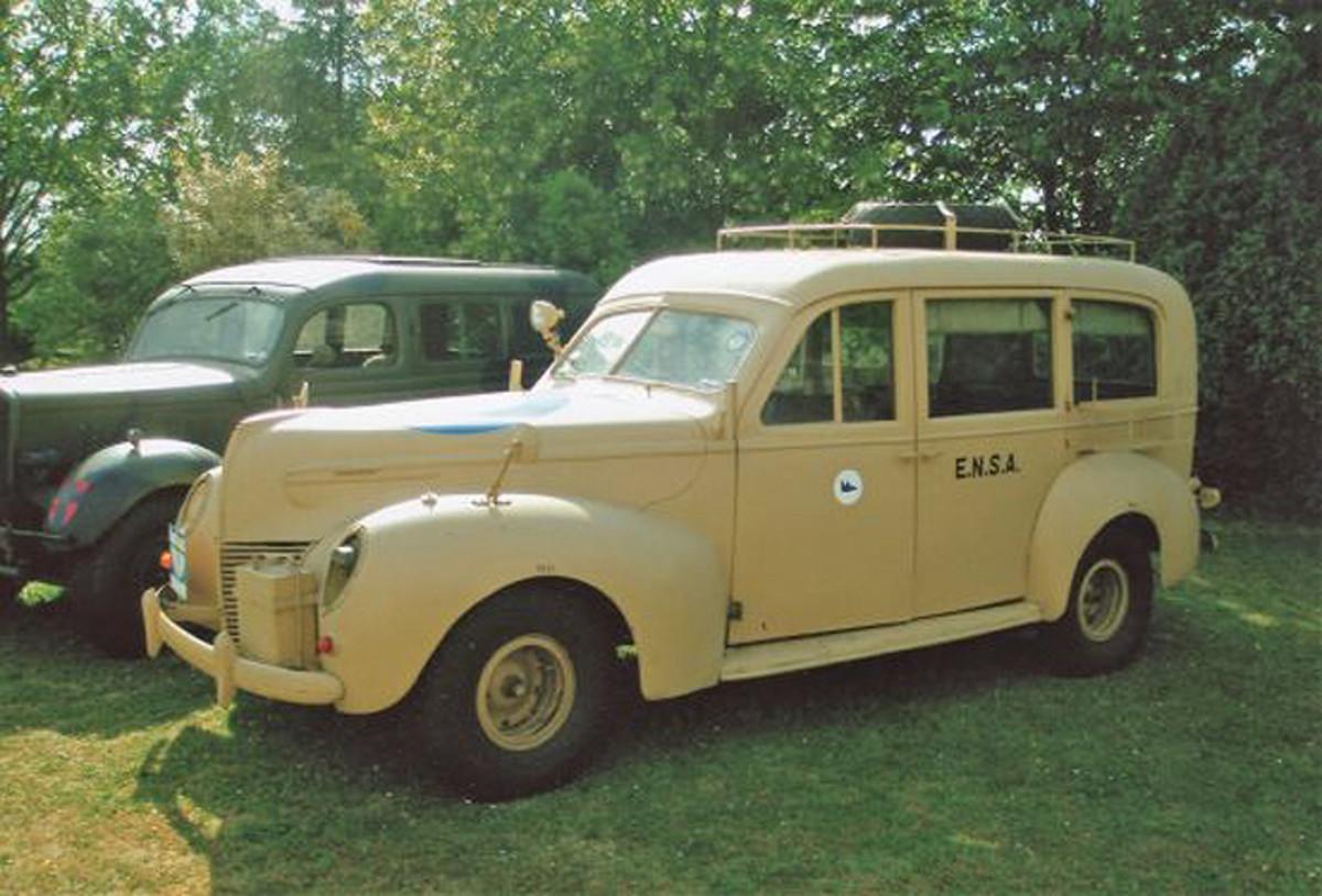 1939 Mercury Eight Series 99A Estate Car