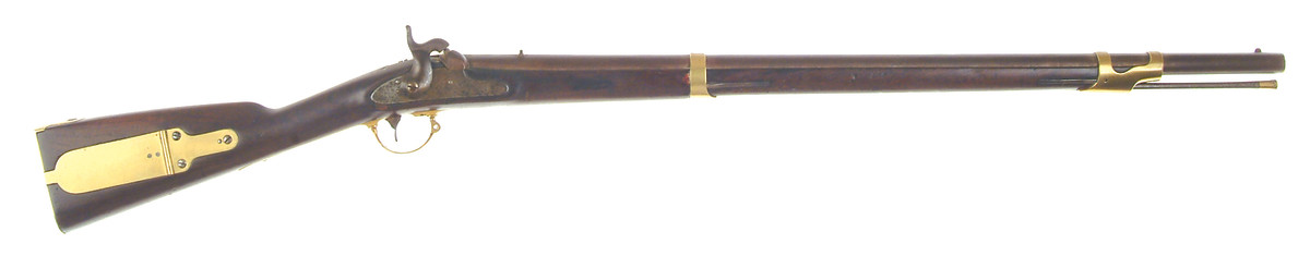 The federally produced Model 1841 was made by Harpers Ferry Armory (It is believed that only model pieces were made at the Springfield Armory in 1849), 1846-1855.