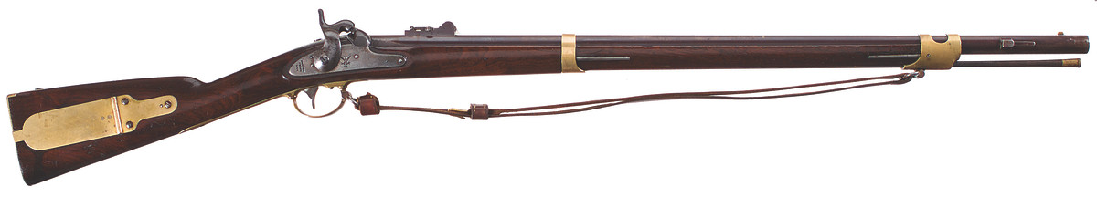 U.S. Model 1841 percussion rifle, .54 caliber, Harpers Ferry third alteration, 1855-1856.