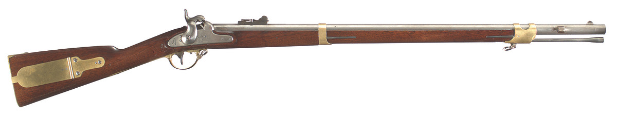 U.S. Model 1841 percussion rifle, Harpers Ferry fourth alteration, 1857-1859.