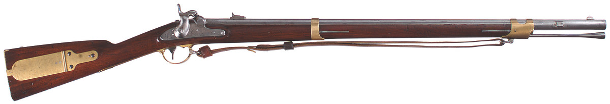U.S. Model 1841 percussion rifle, .58 caliber, Harpers Ferry fifth alteration, 1859-1860.