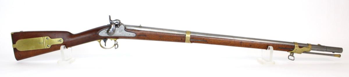 U.S. Model 1841 percussion rifle, .58 caliber, Pennsylvania (Leman) alteration.