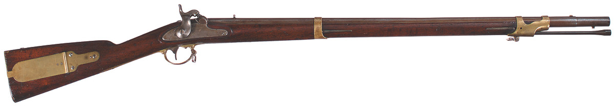 U.S. Model 1841 percussion rifle, .54 caliber, New York (Grosz) alteration, 1861