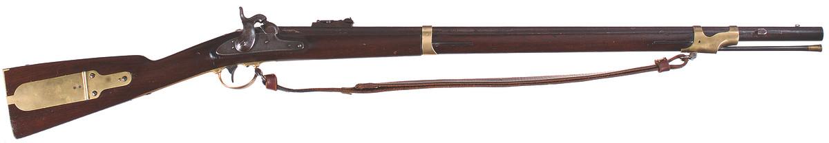 U.S. Model 1841 percussion rifle, .54 caliber, Vermont alteration.