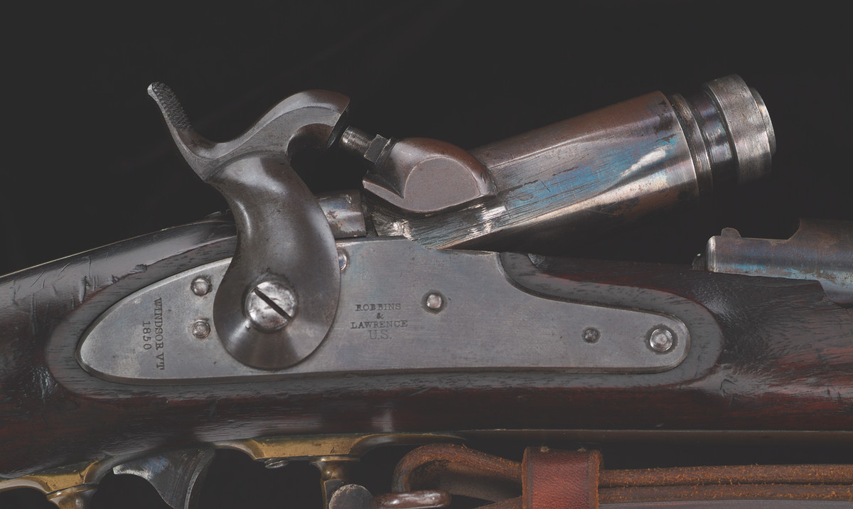 Allen & Morse of Boston contracted with the State of Massachusetts in late 1861 to convert 100 U.S. Model 1841 Contract Rifles to the breechloading system patented by Edward Lindner in 1859.