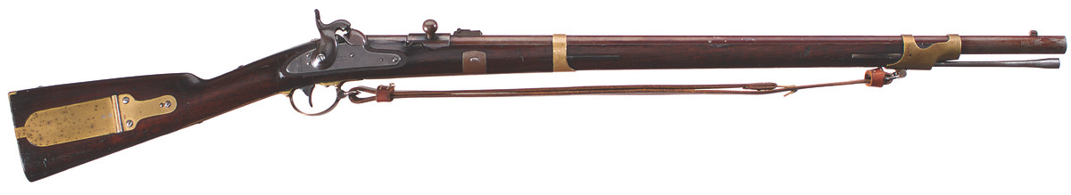 Linder Alteration of U.S. Model 1841 Contract rifles, .54 caliber Combustible Cartridge, Percussion