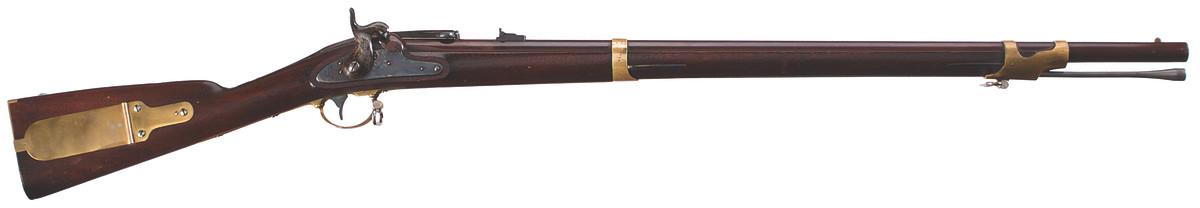 Merrill Alteration of U.S. Model 1841 Rifle .58 caliber, Percussion, Combustible Cartridge