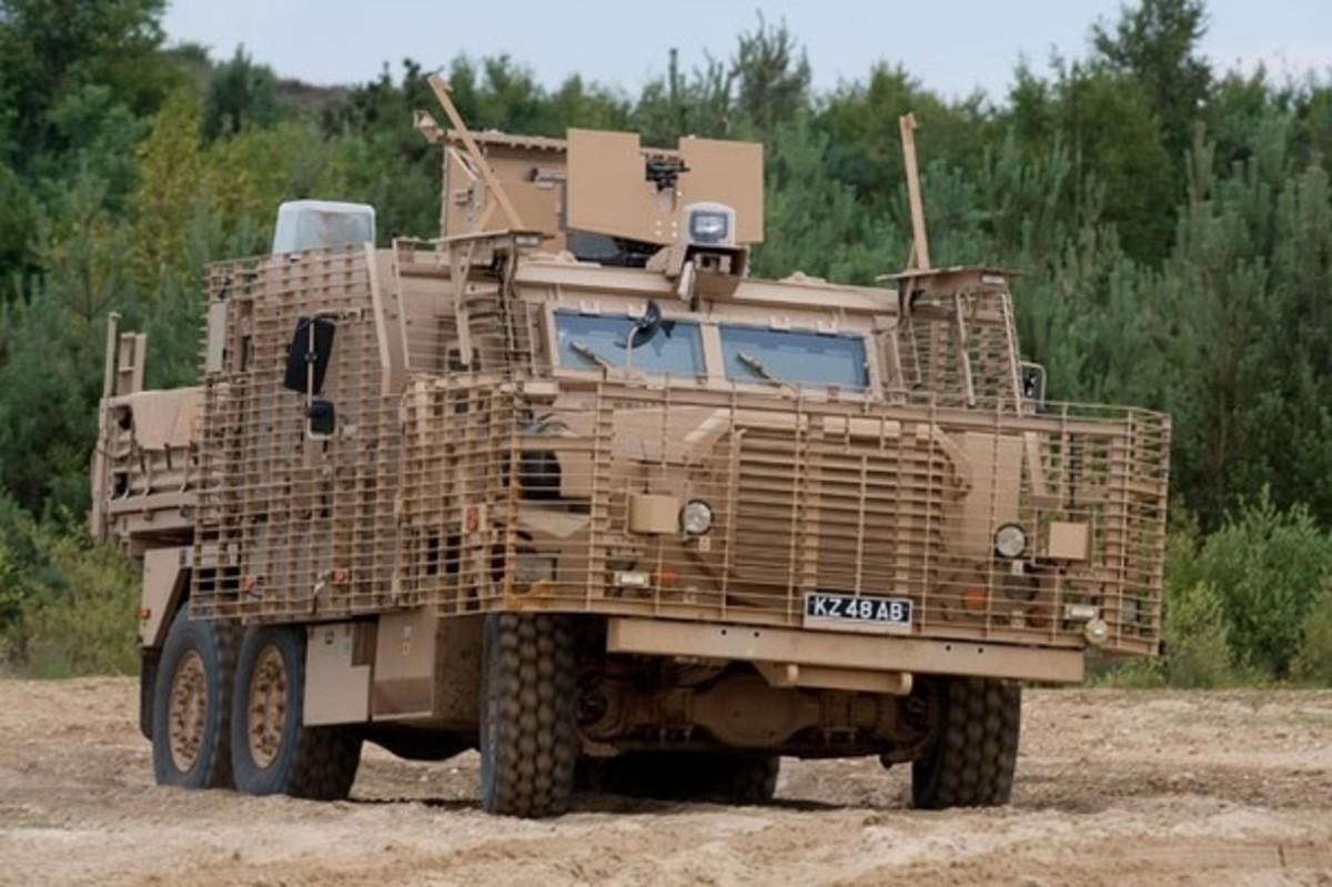 British MRAP. Maybe my next truck?