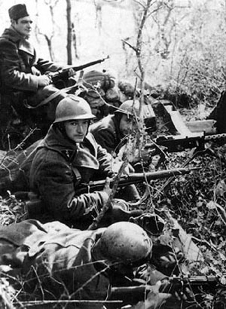 Nearly 250,000 MAS-36 rifles were available to equip the French infantry during the Battle of France in 1940. While many French soldiers manned the Maginot Line armed with the new MAS-36, Germany's Blitzkrieg tactics eliminated any advantages the new, shorter rifles provided.