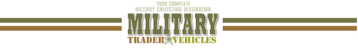 Logo, Military Vehicles and Military Trader, www.MilitaryTrader.com