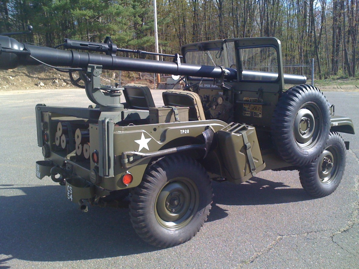 M38A1C restored by Angelo Salvadore.