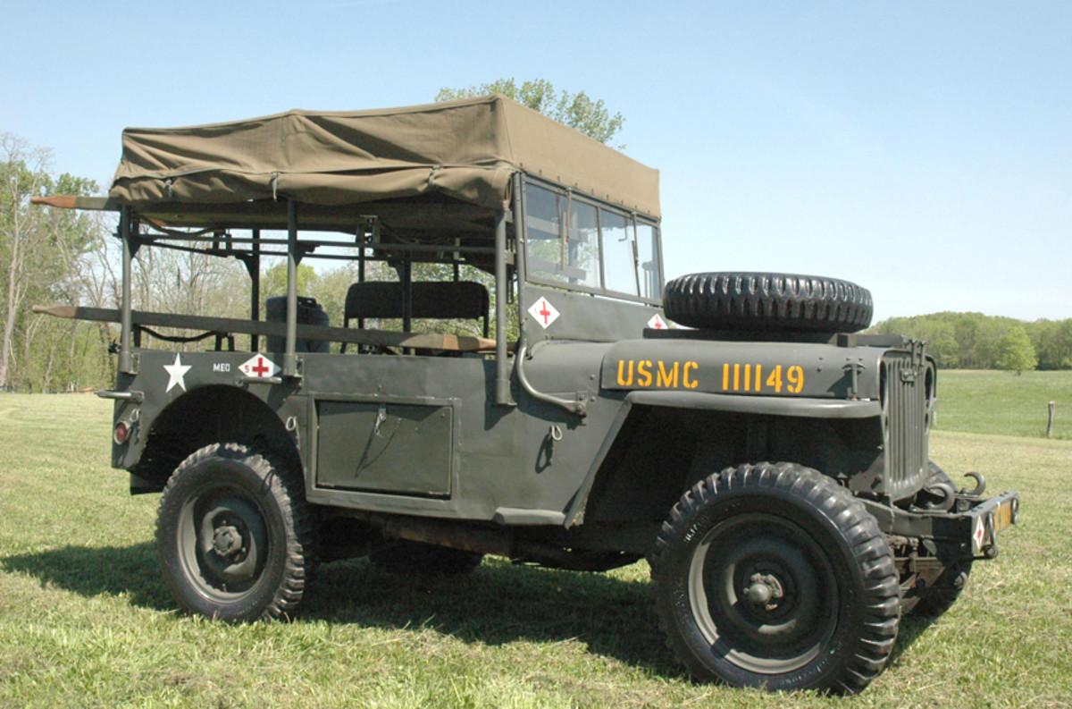 Holden Jeep restored by Russ Jones