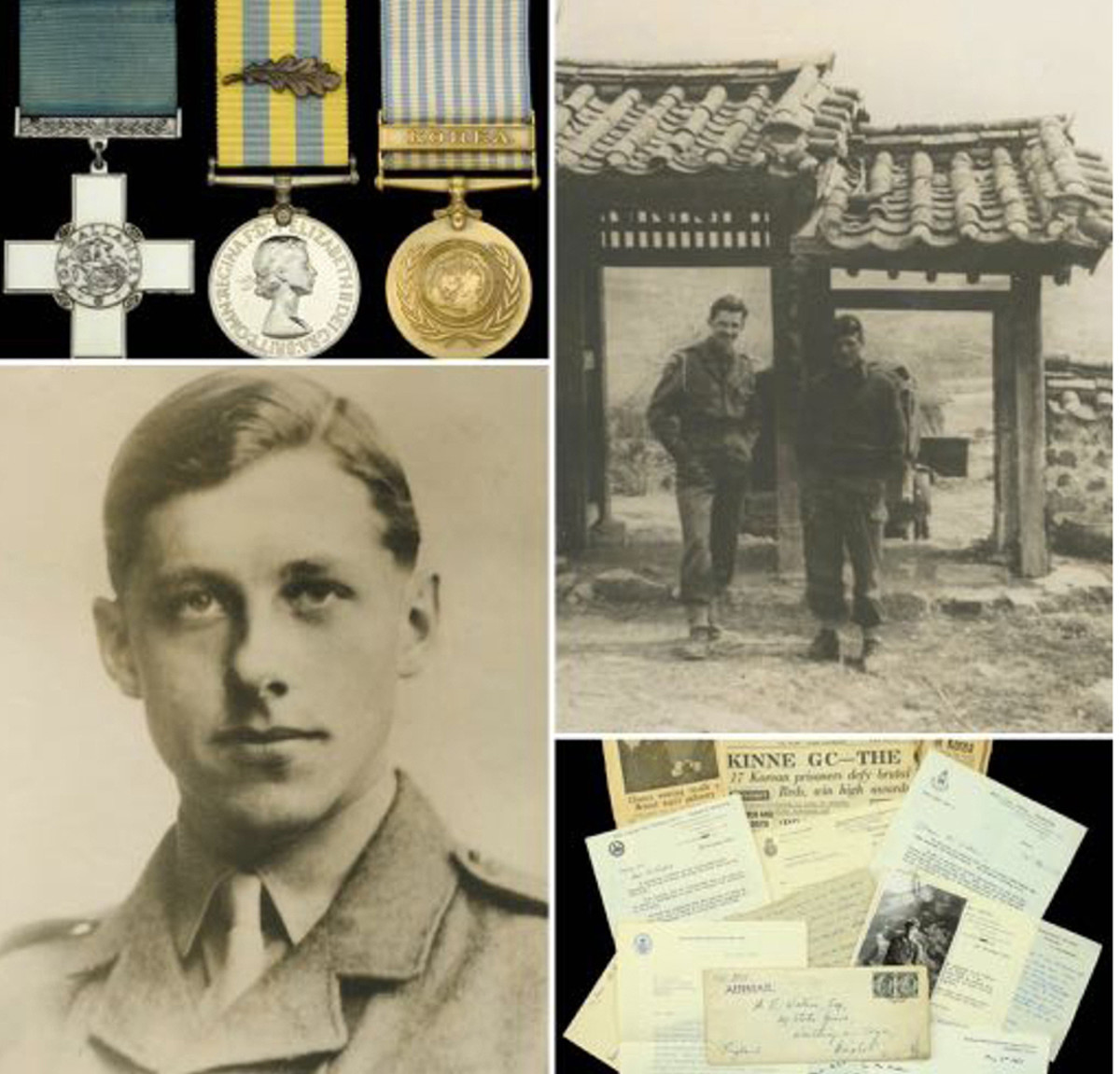 Terence Edward Waters and the George Cross that went for £280,000 at the Dix Noonan Webb Orders, Decorations, Medals and Militaria auction