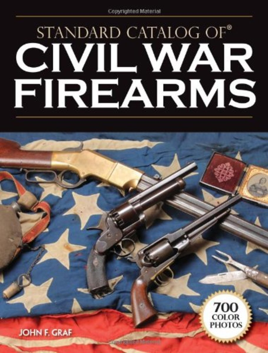 Cover of Standard Catalog of Civil War Firearms by John F. Graf, published in 2009 https://amzn.to/37GcRRF