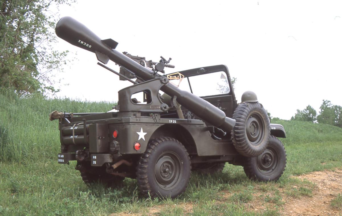 M38A1D Jeep