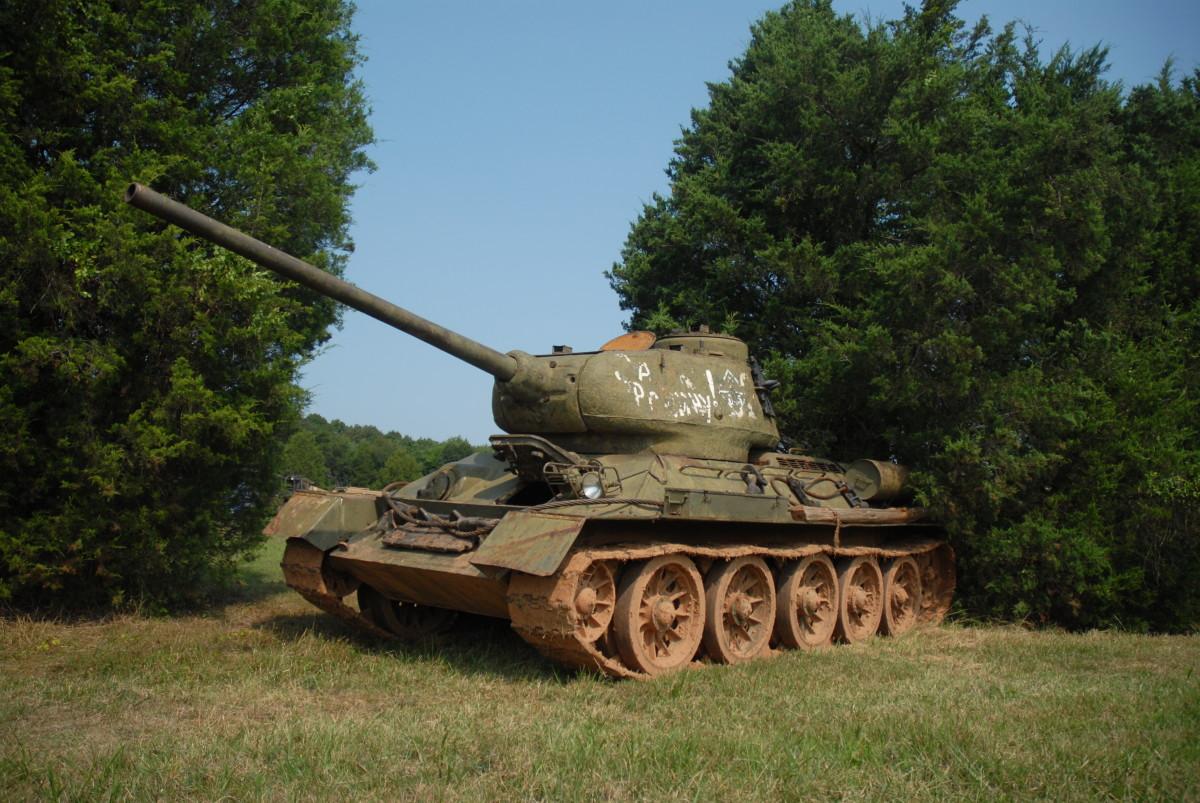 Unrestored T34/85