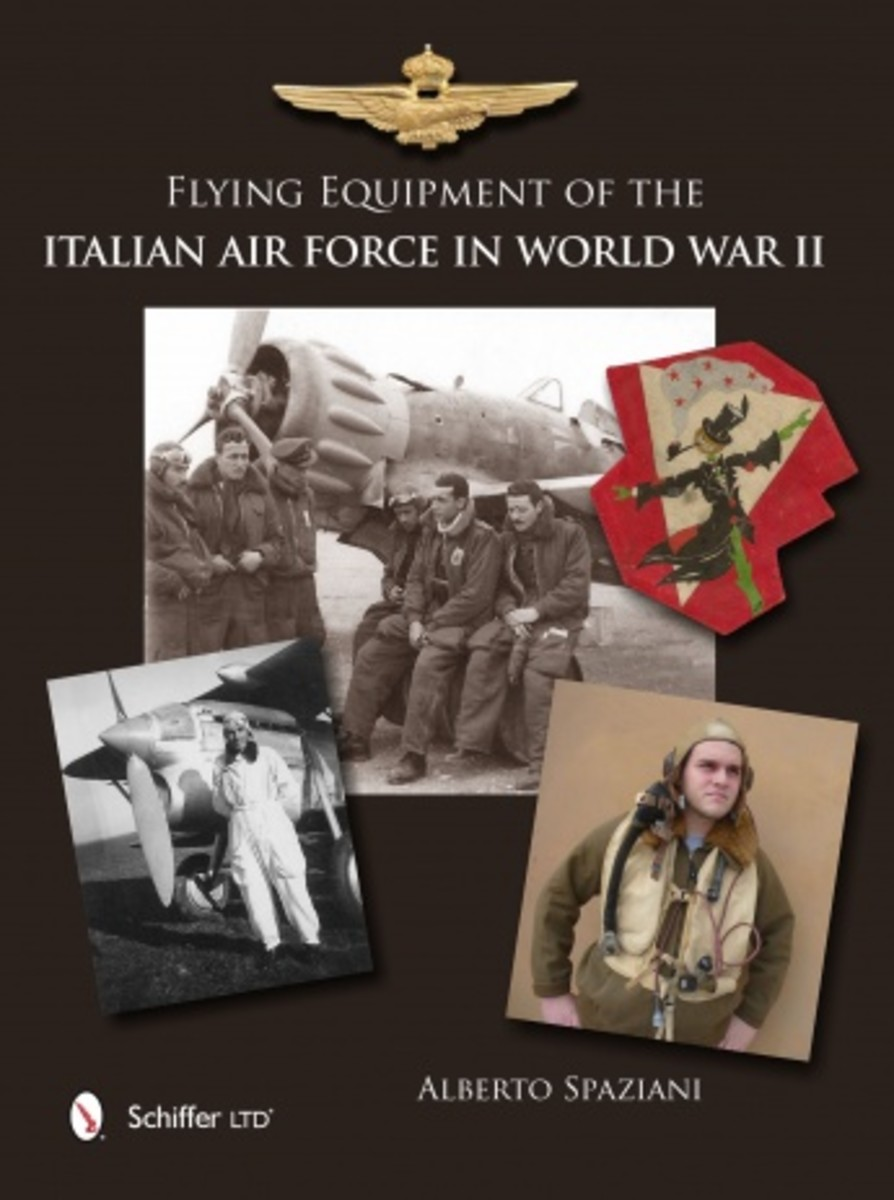Flying Equipment of the Italian Air Force in World War II, available through Amazon