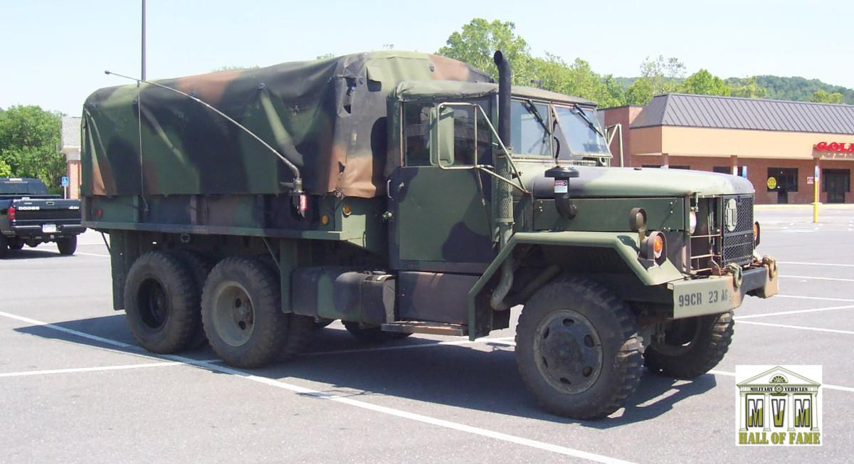 Mike Davidsen's M35A2
