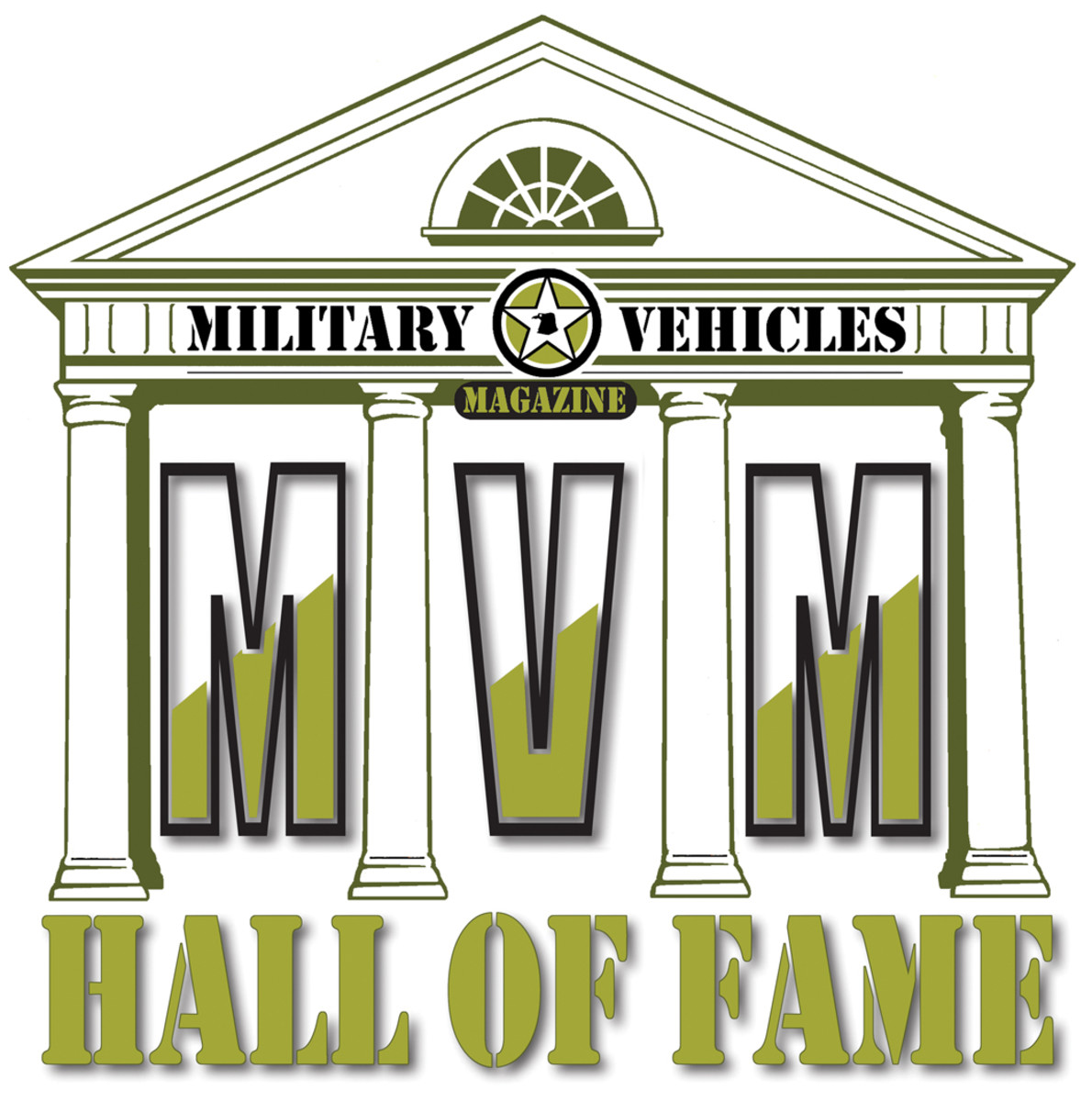 Military Vehicle Hall of Fame logo