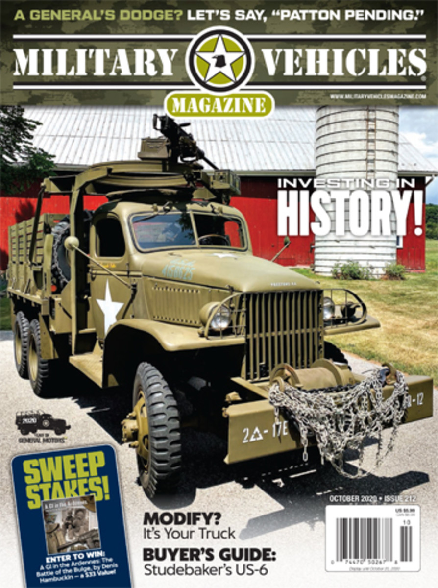 Subscribe to Military Vehicles Magazine