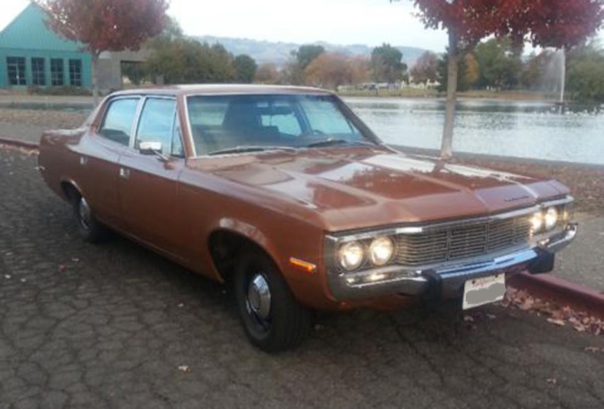1973 AMC Matador was a GSA-procured vehicl