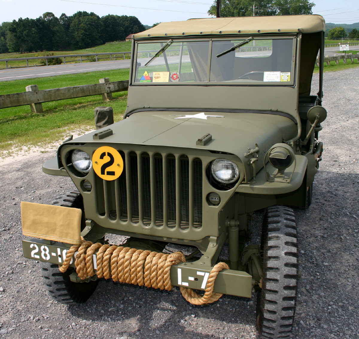 Richard Senge's 1944 GPW. He restored it over the 2013-2021.