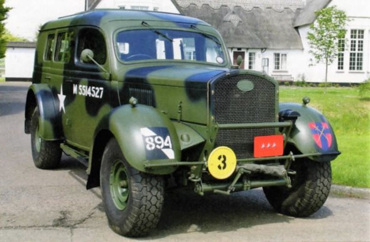 Ford WOA2 'Heavy Utility' cars – chassis 7038837 – took the late Mike Ebeling, a noted WWII vehicle restorer, four years of intensive work to return to its former glory.