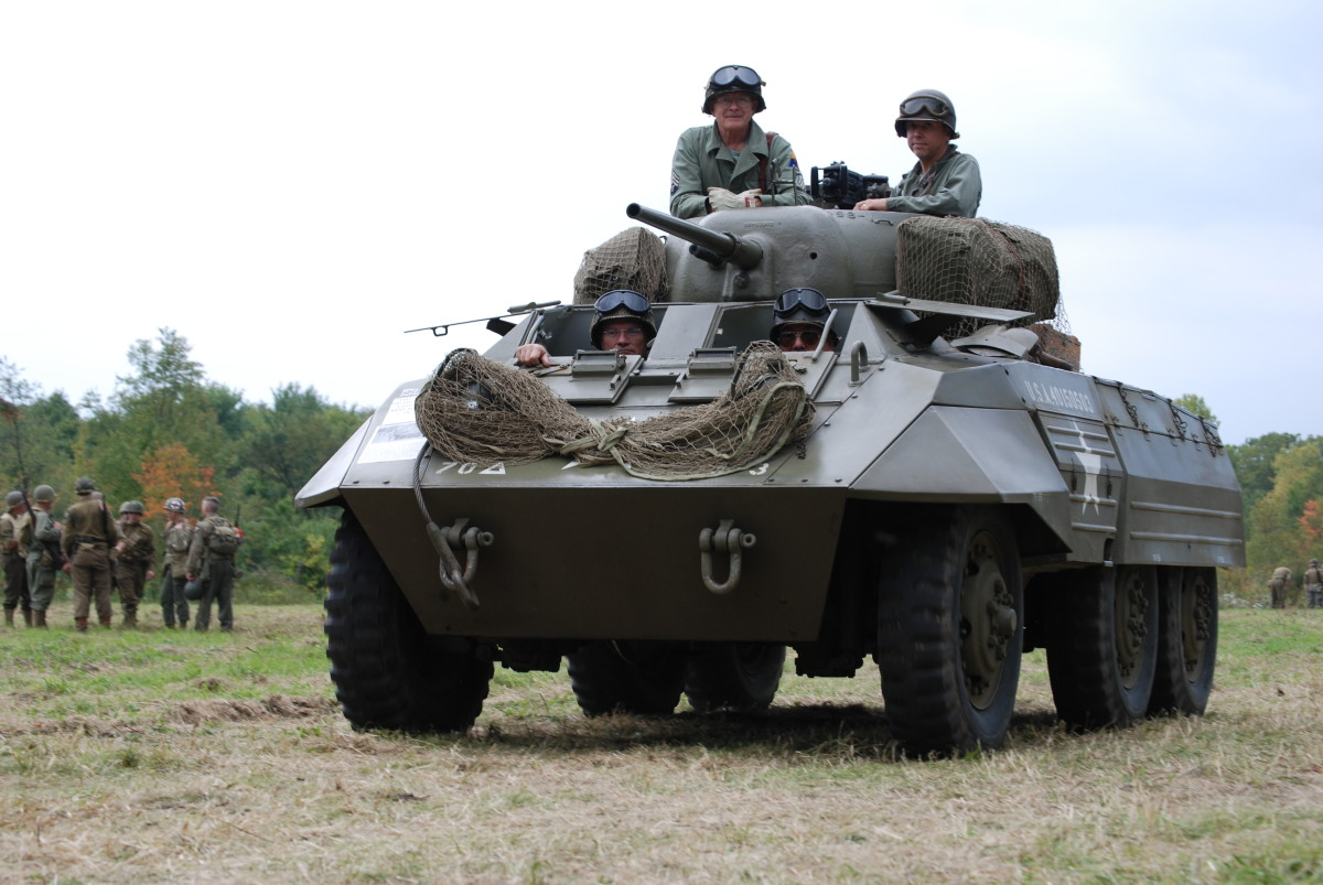 Ford-built M8 armored car operated by Roberts Armory.