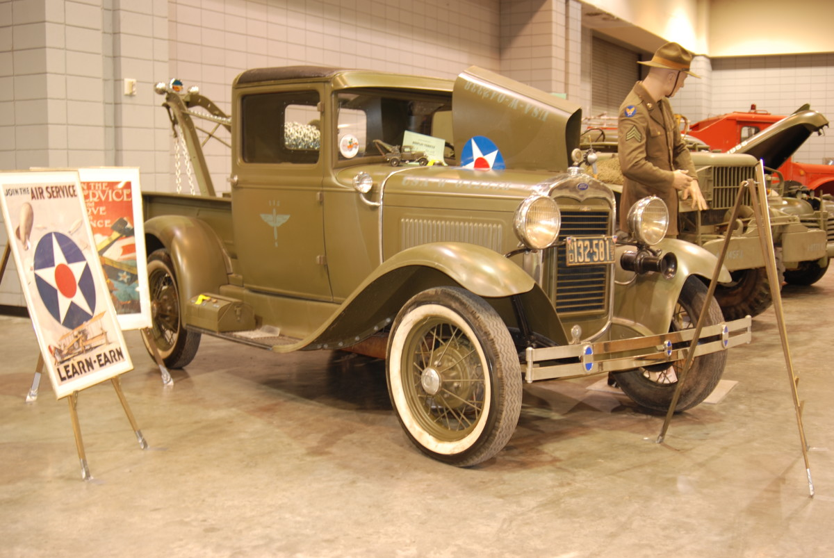 Paul and Evelyn Harless' 1931 Model A Wrecker.