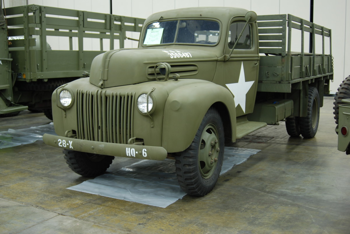 Fred Hoppe's 1944 Ford G8T.
