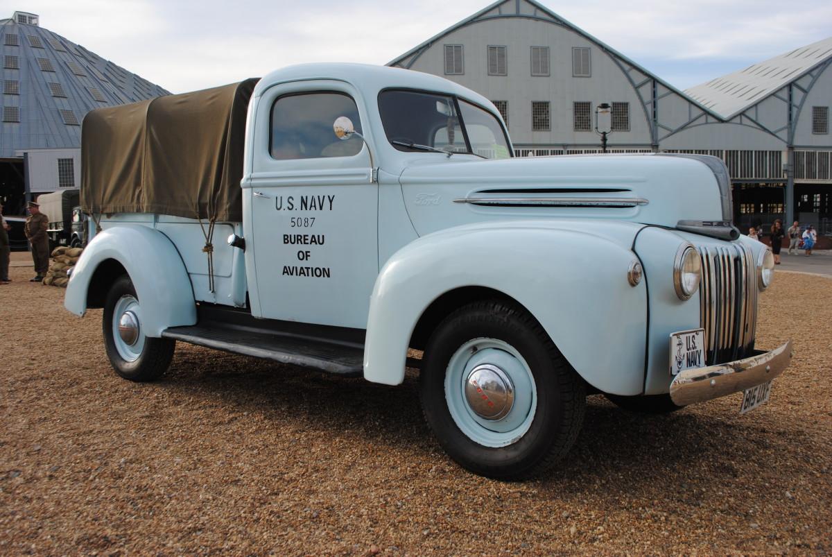 John Chatham's Ford 21C pickup.