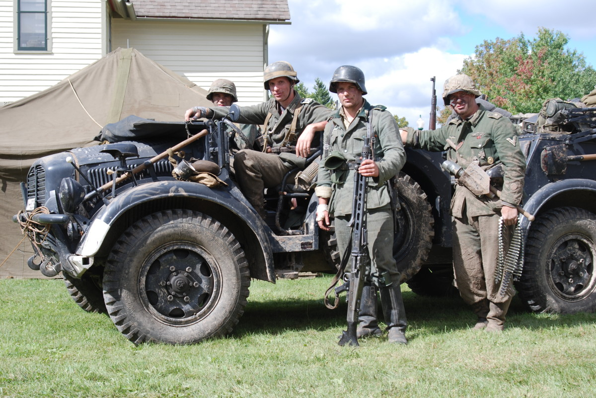 Ford-produced Horch EGA Type 40 squad/command car photographed was WWII Days in Rockford, Illinois.