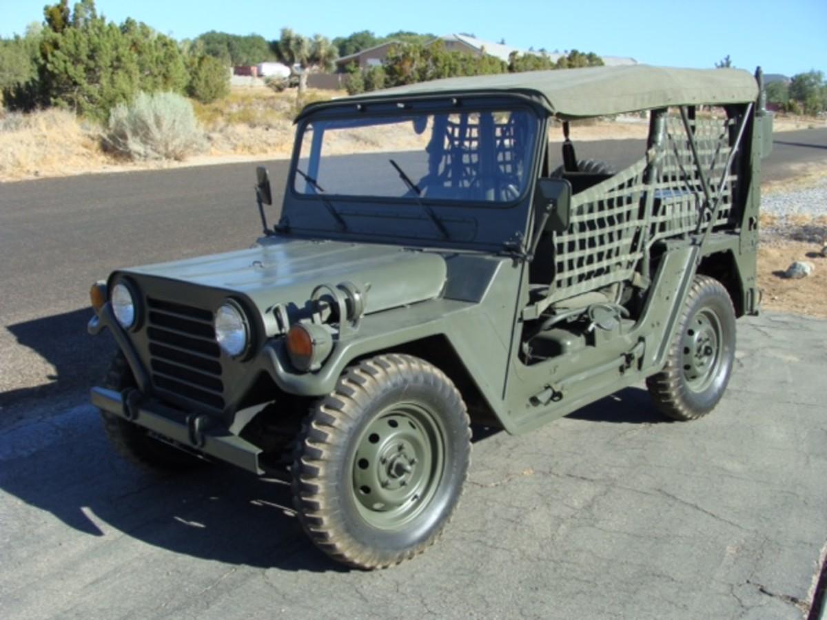 Dan Black's Ford M151A2.