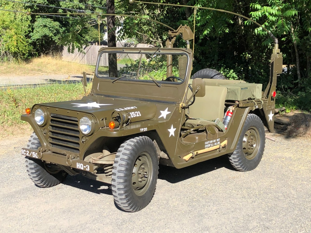 Will Connor from Santa Rosa, California, shard this image of his 1966 Ford M151A1.