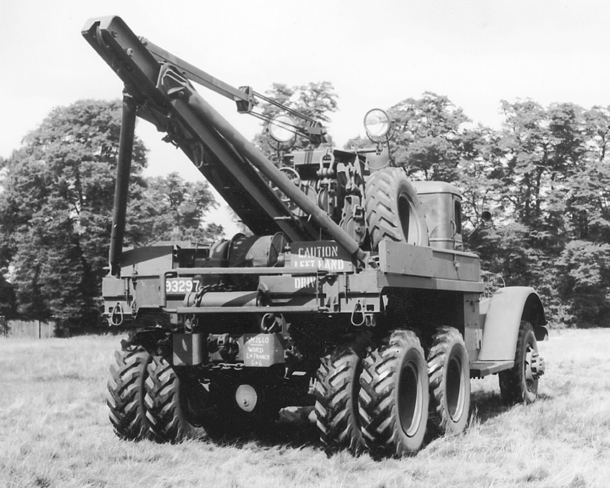 The Series Three lacked the front and rear trailer connections found on the earlier models, and the entire run of 365 was supplied to the British as Lend-Lease items.