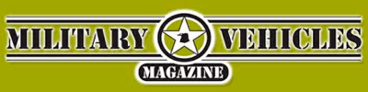 Military Vehicles Magazine logo. Subscribe: https://mvh.pcdfusion.com/pcd/Order?iKey=C**E15