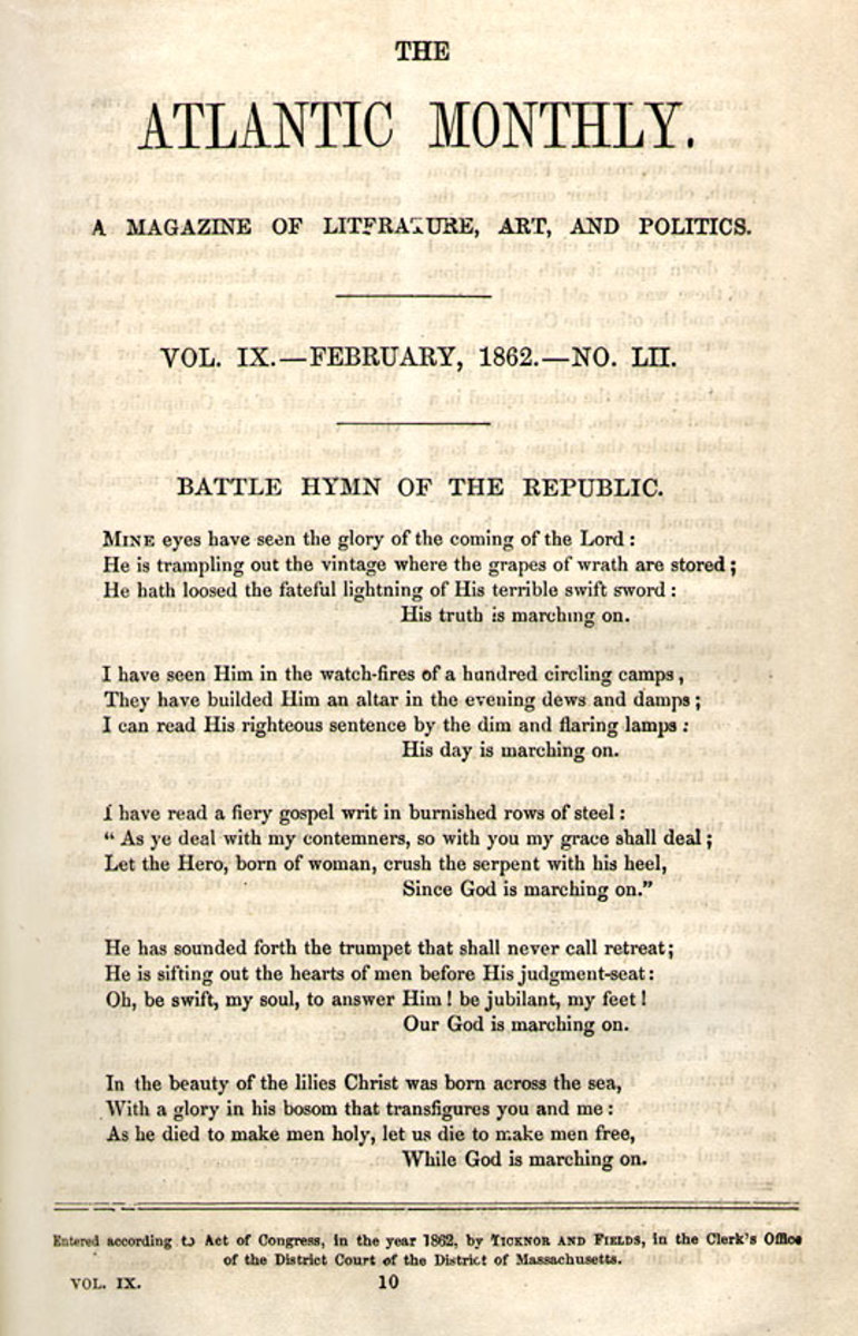 As originally published 1862 in The Atlantic Monthly