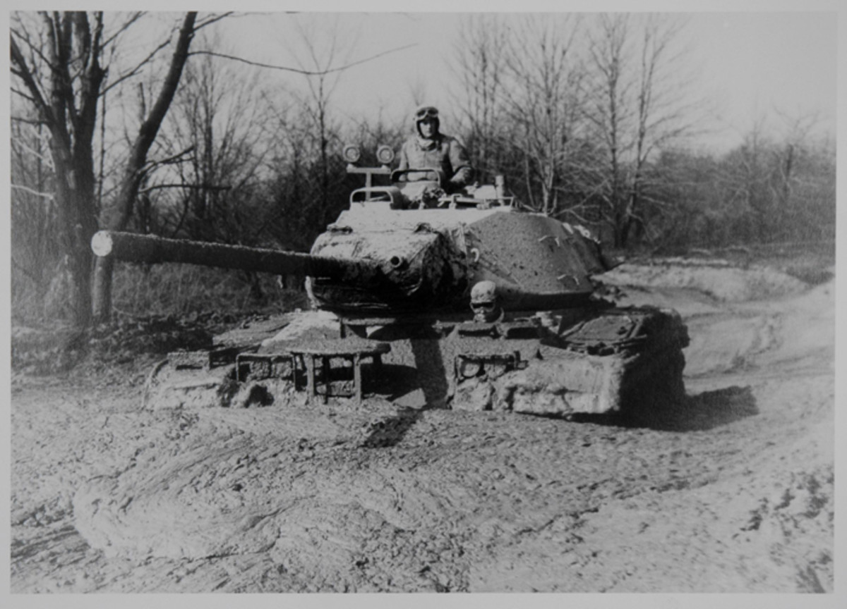 The deep mud performance of the M41 was tested on in the Churchville Test Area of Aberdeen Proving Ground. Longtime  attendees to the East Coast Rally can attest to  the muddy  conditions of the area, although not usually this severe!