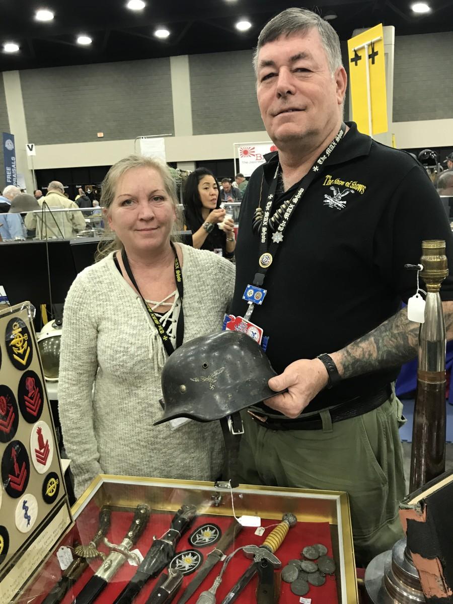 Audrey and Doug Brown of Kezar Falls Curiosity Shop.