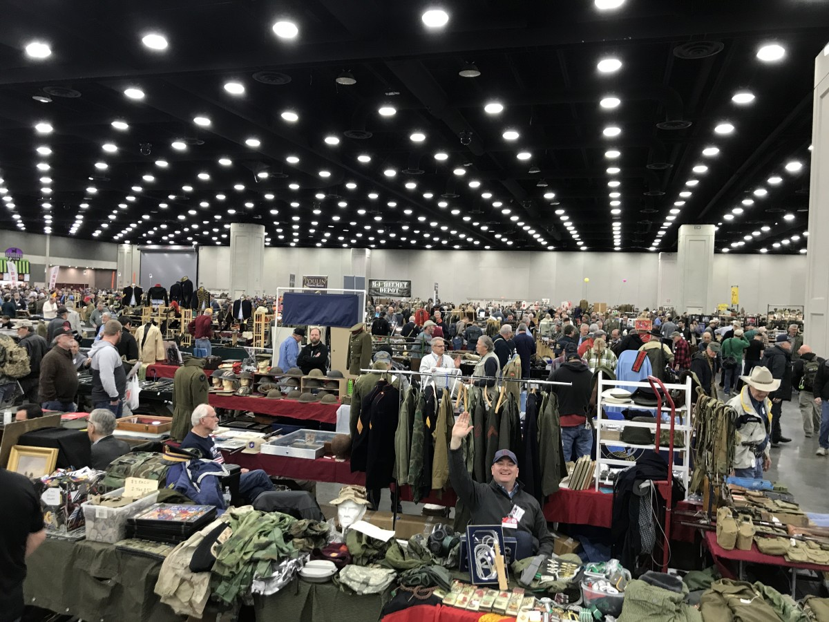 The 2020 Show of Shows took place at the Kentucky Expo Center in Louisville. More than 750 dealers filled 1,965 tables.
