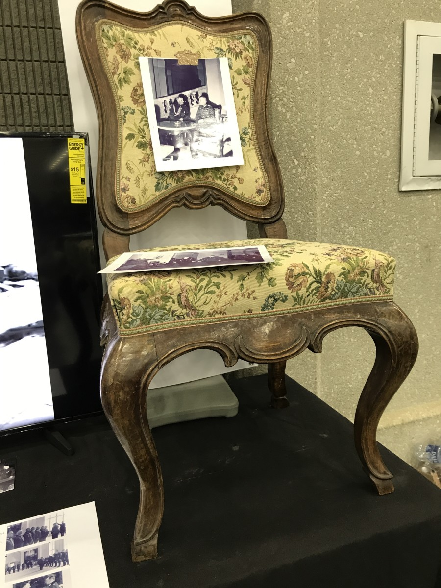 Herman Goering's chair!