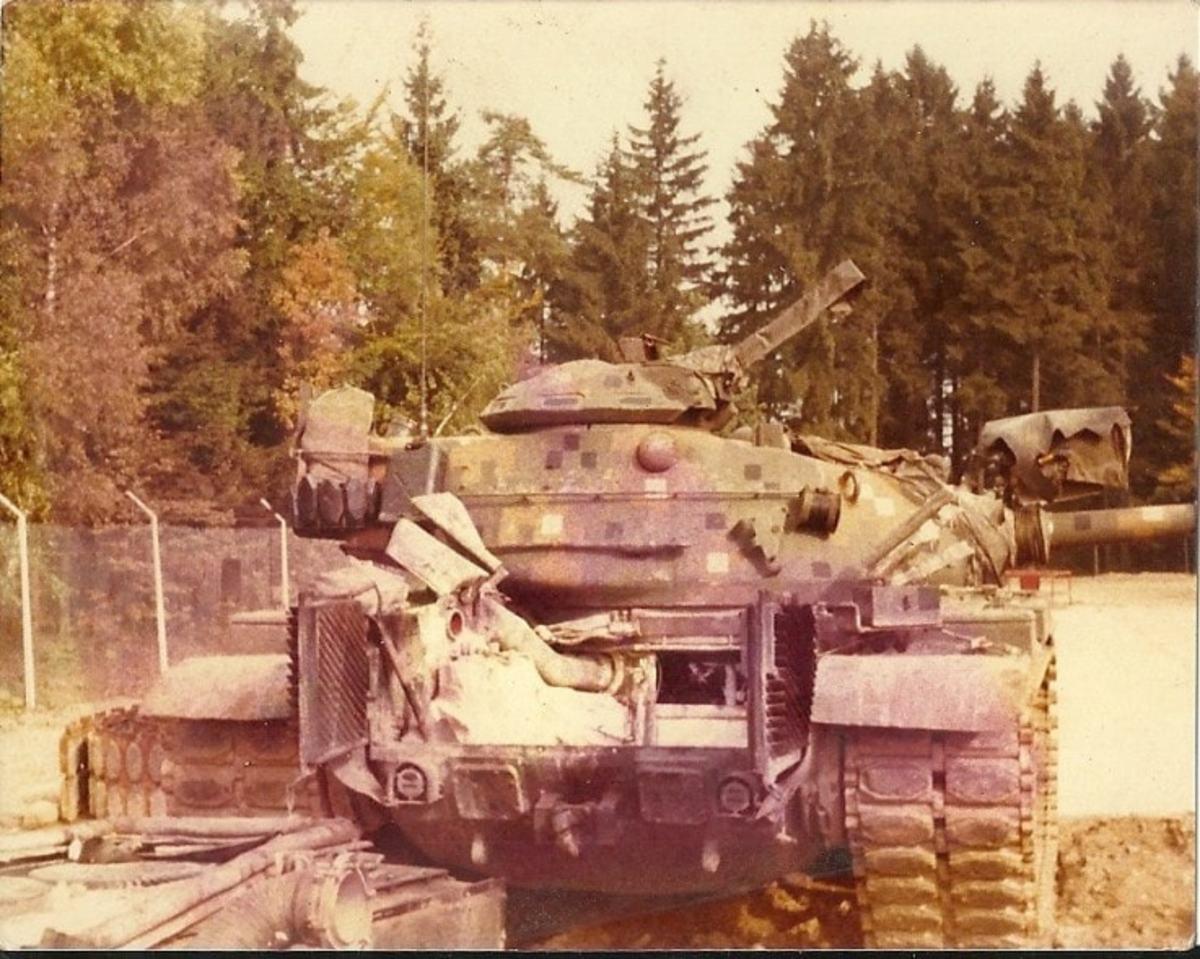 M60 MBT in Dual-Tex camo, courtesy of Chuck Jaekel