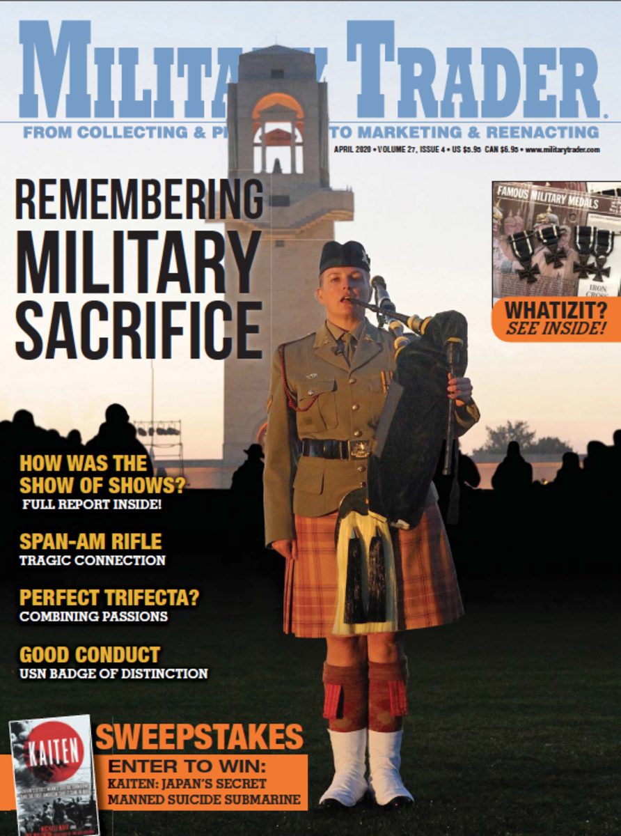 Can't get enough militaria? Military Trader is packed full of the relics and stories about collecting that you love. Subscribe today for digital or print delivery!