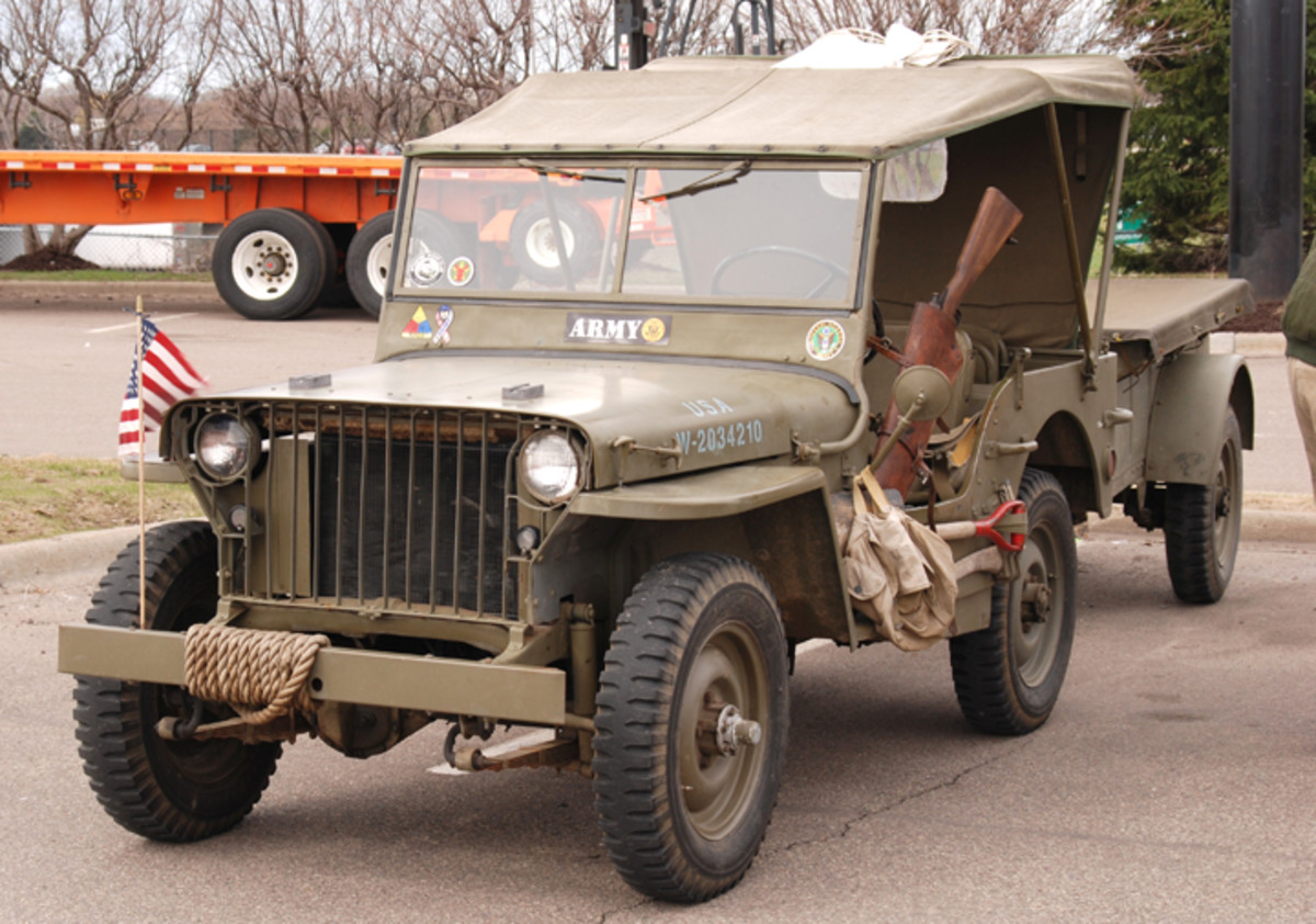 "Willys MB ""slat grille"" Jeep owned by Louis Larson."