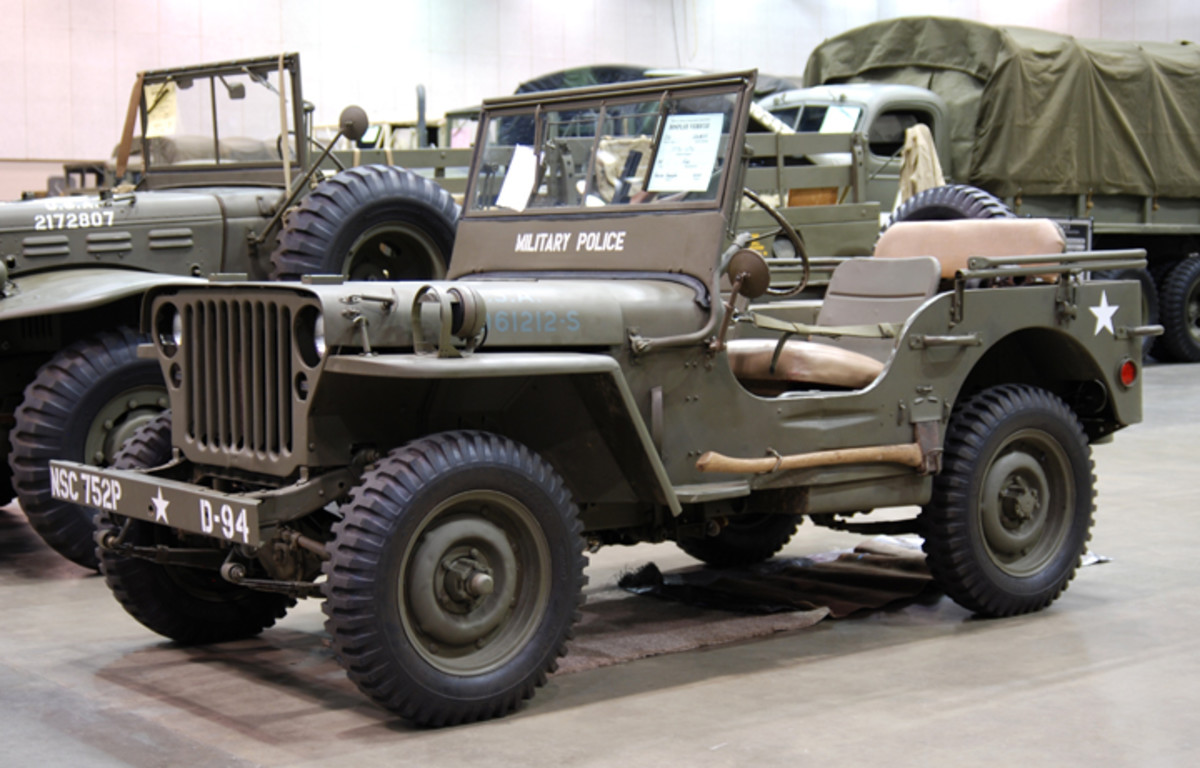 1942 Ford GPW Jeep owned by Brevan Addington.