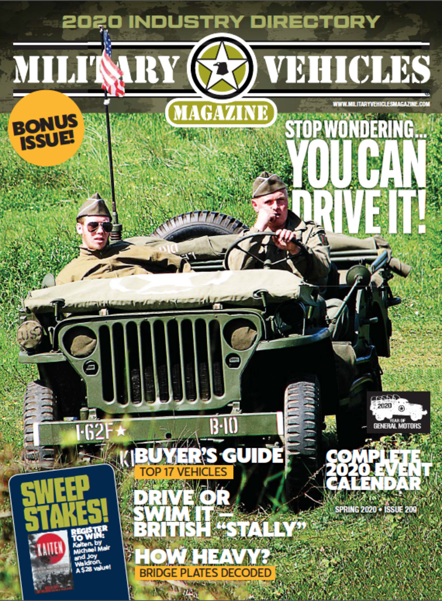 Cover of the 2020 Bonus issue of Military Vehicles Magazine