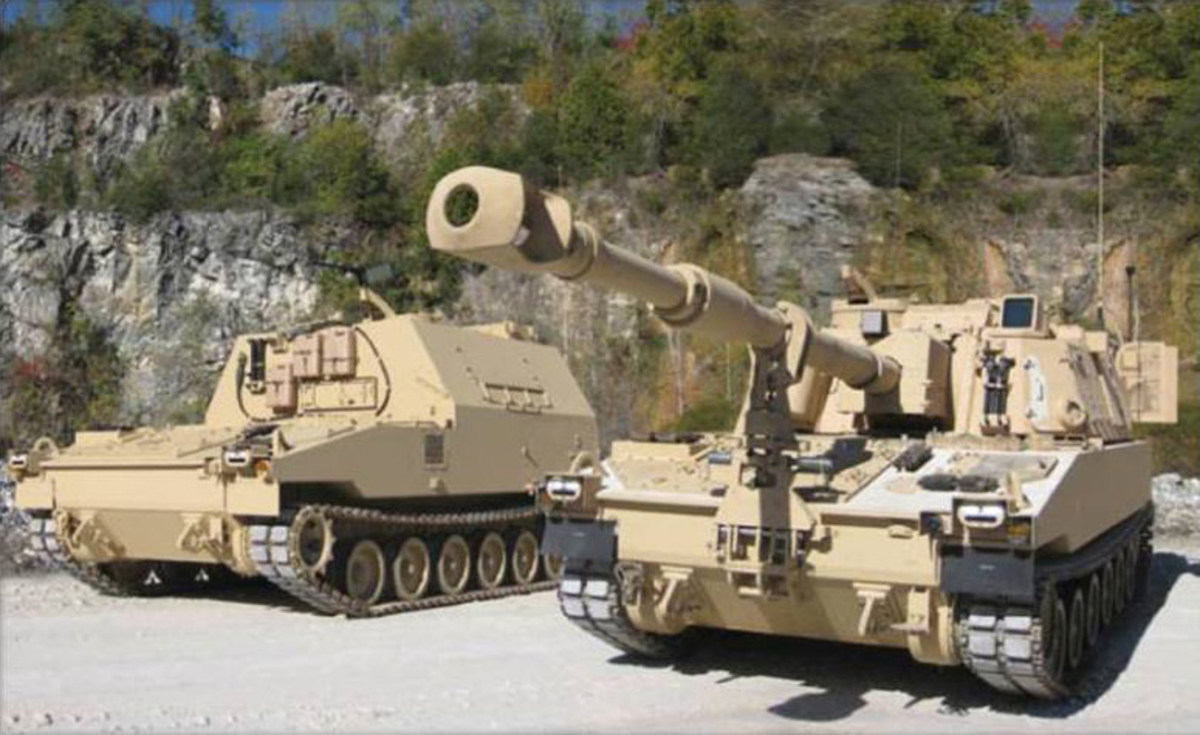 M109A7 and M9923 from the US Army's description of 2019 programs.